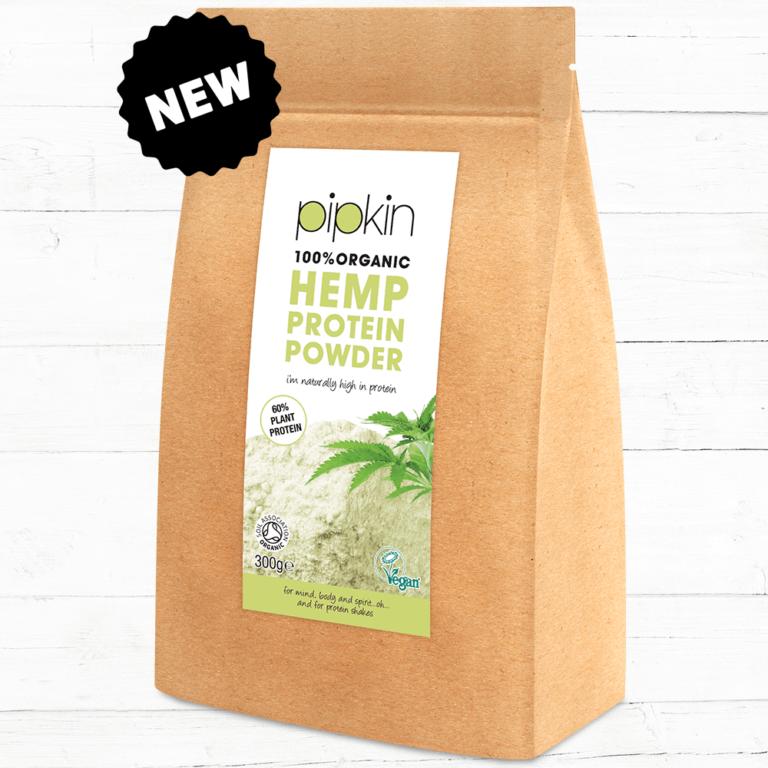 Pipkin hemp protein powder