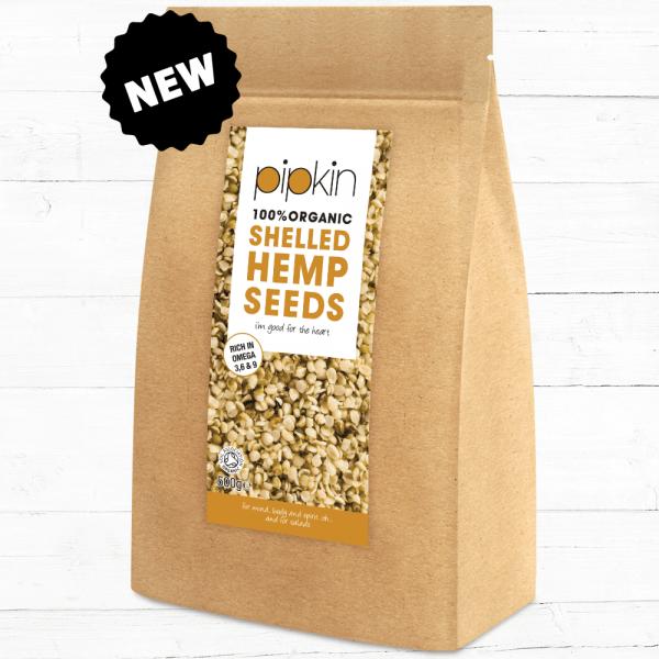 Pipkin Shelled Hemp Seeds