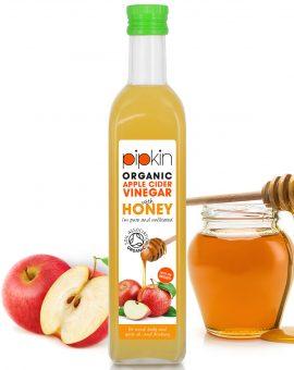 Pipkin Apple Cider Vinegar With Honey 500ml