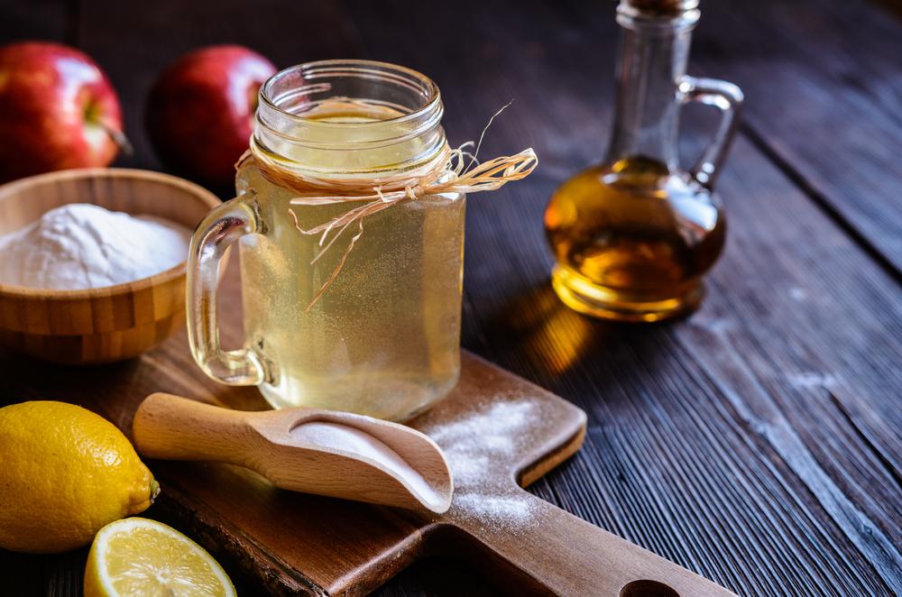 Apple Cider Vinegar Apple Pie detox drink