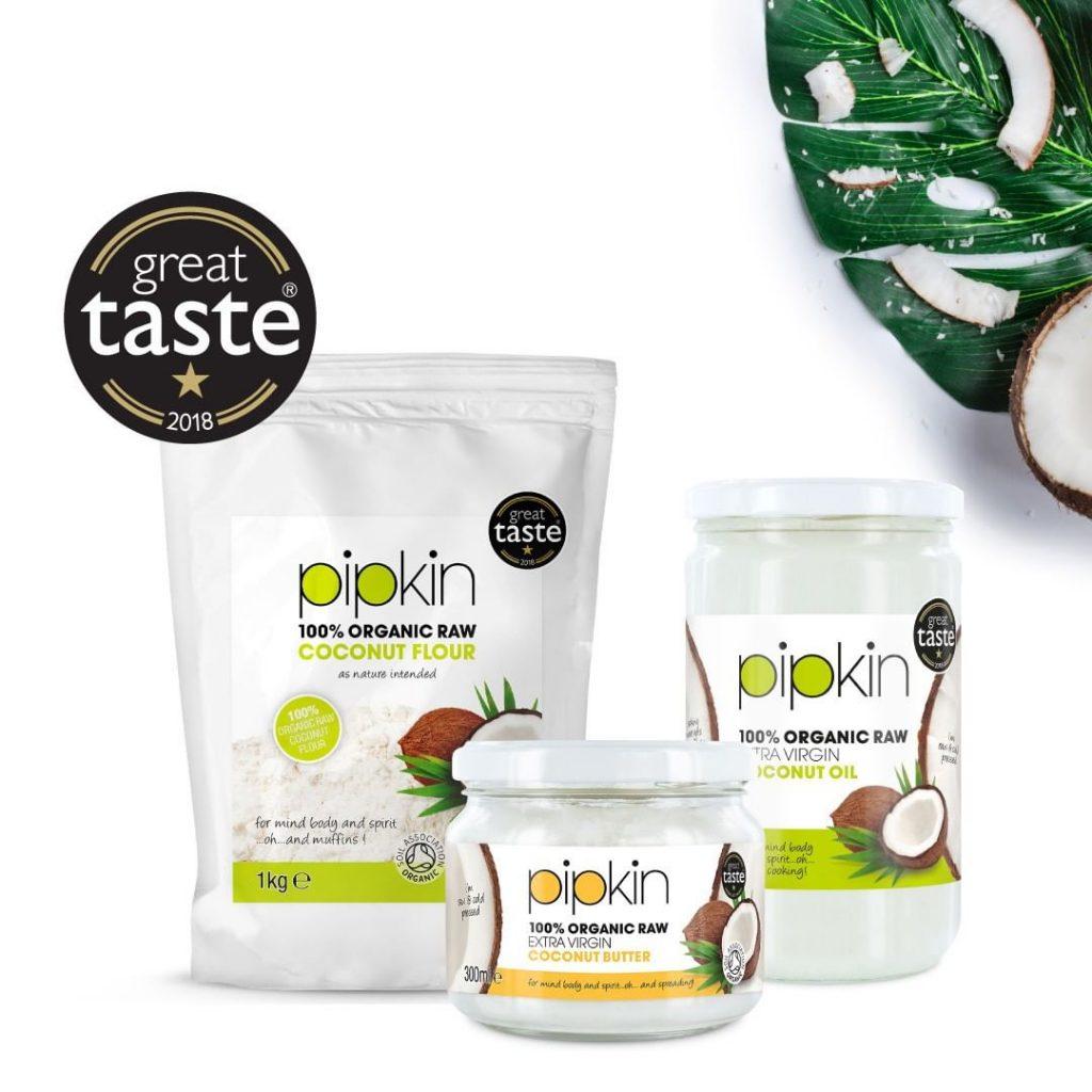 Pipkin's vegan coconut range
