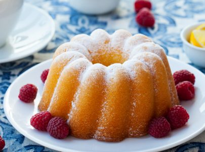 The Great British Bake Off Inspired Bundt Cake