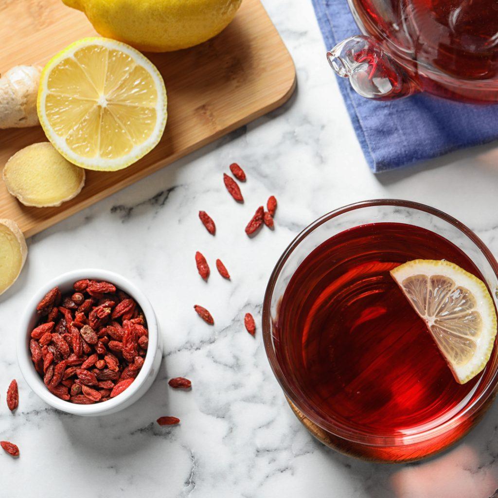 5 ways to eat Goji Beries - Goji berry tea