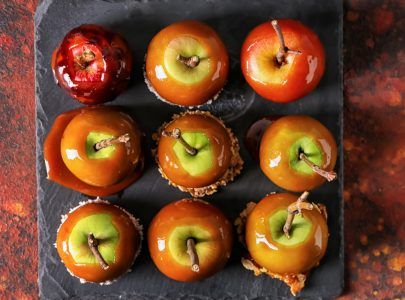 Bonfire Night: Toffee Apples