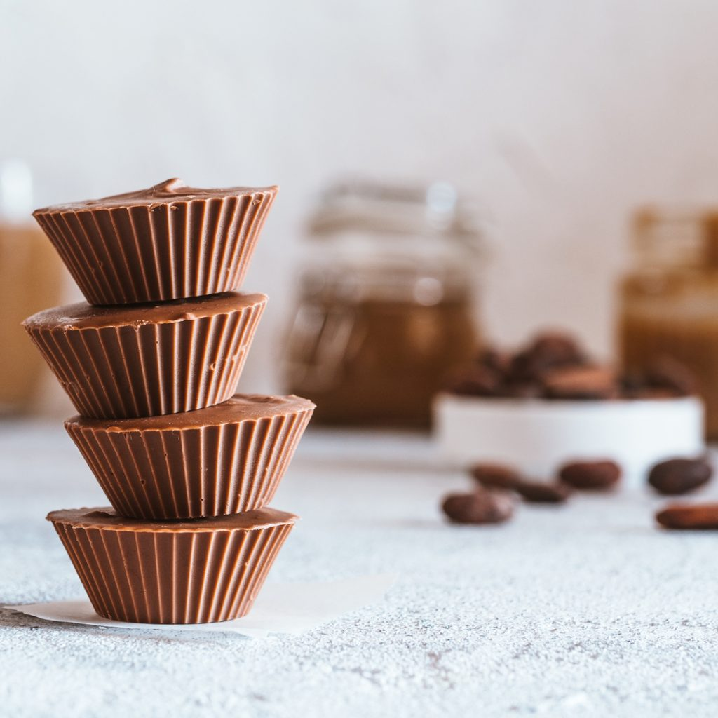 Coconut Butter Chocolate Cups