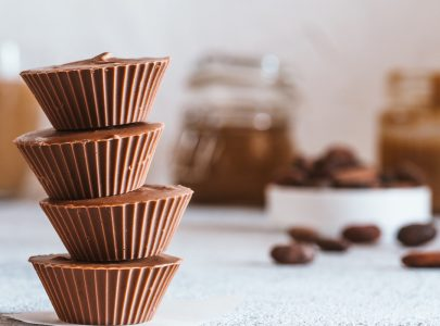 Vegan Coconut Butter Chocolate Cups